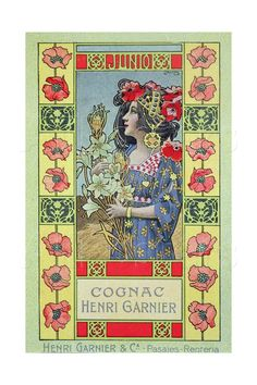 June, from a Calendar for Henri Garnier and Co., 1902   - Camps Junyent, Gaspar