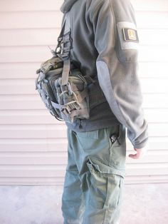 Maxpedition Sabercat 005 by justaninja, via Flickr the suspenders are HSGI and MM. with a fully loaded pack the suspenders are a big plus.