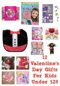 12 Valentine's Day Gifts For Kids: Under 25