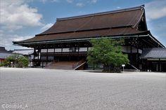 京都御所/京都府 Japanese Castle, Beautiful Scenery, Palaces, Wood Art, Castles, Cottage, Traditional, Landscape, Architecture
