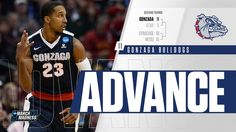 No. 11 Gonzaga routs No. 3 Utah, 82-59, to advance to #Sweet16. #MarchMadness #LetsMarch