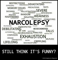 Narcolepsy: more than the jokes people tell Chronic Pain, Fibromyalgia, Chronic Illness, Idiopathic Hypersomnia, Severe Insomnia, Sleep Apnea Remedies, Illness Quotes, Sleep Medicine, Sleep Problems