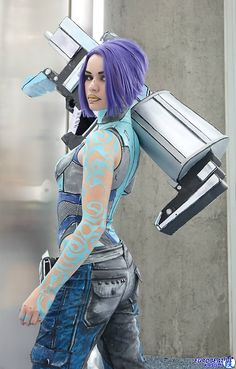 Character: Maya the Siren / From: 2K Games & Gearbox Software's 'Borderlands 2' / Cosplayer: Macy Rose Cosplay / Photo: Eurobeat Kasumi Photography / Event: Comikaze 2014
