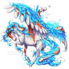 Day 17 - Koi splash by BronzeHalo.deviantart.com on @DeviantArt