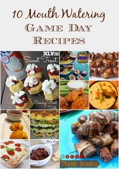 Outnumbered 3 to 1: 10 Mouth Watering Game Day Recipes