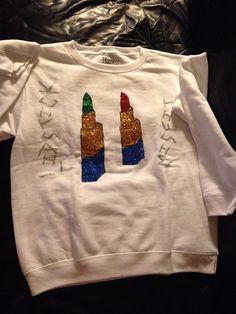 A personal favorite from my Etsy shop https://www.etsy.com/listing/216188066/lipstick-misfit-sweatshirt