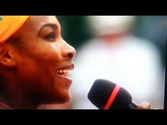 Serena Williams shows off her tennis and French speaking skills to the crowd at Roland Garros Why Learn French, How To Speak French, French Teaching Resources, Learning French, Study French, French Open, Listening Activities, Active Listening, French Teacher