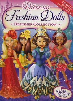 Dress-Up Fashion Dolls Designer Collection by Hinkler Books. $8.99. Publisher: Hinkler Books, distributed by Ideals Publications (August 1, 2010). Publication: August 1, 2010