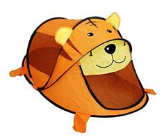 GreEco Extra Large Childrens Pop Up Tent Instant Portable Travel Baby Tent Boat Shape PopUp Mosquito Nets Tent 785 X 375 X 30 Inch Tigger ** Want additional info? Click on the image(It is Amazon affiliate link). #85likes