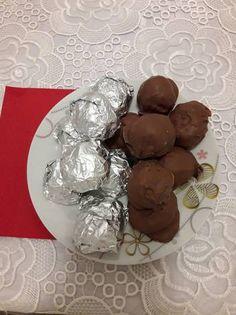 Σοκολατάκια oreo με nutella Oreo, Food And Drink, Pudding, Cooking, Sweet, Desserts, Christmas, Kitchen, Candy