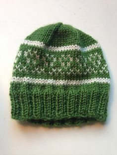 Ravelry: Green Heart Baby Hat pattern by design errant
