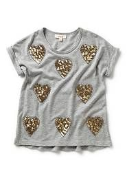 Seed Child ~ Girls all over Heart Tee