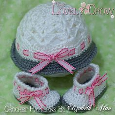 Baby Crochet Patterns MY ANGEL BABY set by TheLovelyCrow on Etsy, $10.75
