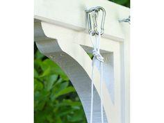Snickra en torkställning/torkvinda som passar stilen på ditt hus.