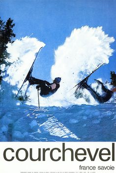 Umpfff!  Vintage skiing posters dating from the 1930s to the 1970s, recently released   from the world's largest privately-owned collection.