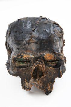 Kendell Geers - Kaput Mortuum XVI (2012), plaster of paris and patina, 15 x 17,5 x 20 cm | kendellgeers.com