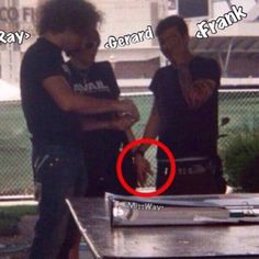 THIS IS CONCRETE PROOF... FRERARD WAS REAL!!!!!! One of you must show this to Gerard and question him about or Frank( sorry I'm a little boitch for Frerard)