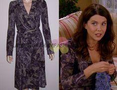 Diane von Furstenberg / Gilmore Girls / 7.09 - Knit, people, knit! / 2006 / Boka Wrap Dress in Cordova