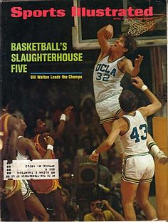 """Sports Illustrated April 3 1972 Florida State victimized in final by the ''Uclans"""" Cal Basketball, New York Basketball, Love And Basketball, Basketball Pictures, Sports Pictures, College Basketball, Basketball Players, Bill Walton, Si Cover"""