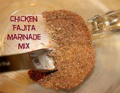 Chicken Fajita Marinade Mix 1