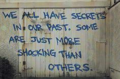 We all have secrets in our past. Some are just more shocking than others. Find out what other people are saying: social.giftmovie.com @GiftMovie #Past High School Memories, My High School, Mystery Film, English, How To Plan, Sayings, Words, Quotes, People