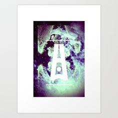 AURORA BOREALIS#02 Art Print by oculto | Society6