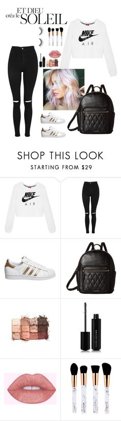 """""""soleil"""" by lindsss2 on Polyvore featuring NIKE, Topshop, adidas, Vera Bradley, tarte and Marc Jacobs"""
