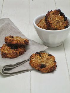 Smakelijck: Banaan-havermout koekjes!