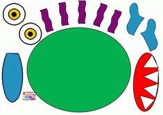 Monstre : le reconstituer en suivant la frise – MC en maternelle Social Emotional Activities, Writing Activities, Preschool Books, Preschool Science, Big Green Monster, Story Retell, Felt Stories, Album Jeunesse, Petite Section