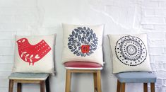 Screen Printed goods for your home.