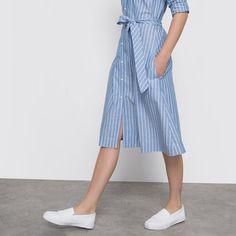 striped shirtdress LAURA CLEMENT