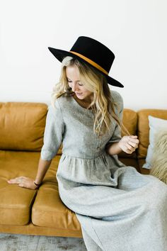 Button Up Dress | ROOLEE
