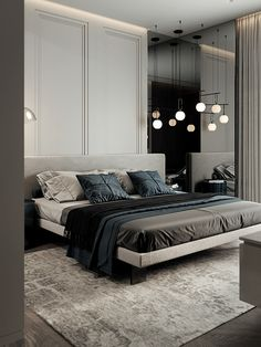 Inspirational ideas about Interior Interior Design and Home Decorating Style for Living Room Bedroom Kitchen and the entire home. Curated selection of home decor products. Scandinavian Style Home, Scandinavian Interior Design, Bathroom Design Luxury, Modern Bedroom Design, Interior Design Inspiration, Home Decor Inspiration, Round Beds, Apartment Design, Decoration