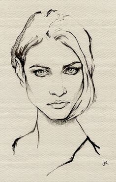 ink painting--Anna Selezneva on Behance