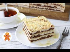 Pechemdoma.com | Торт «Подмосковные вечера» Pudding, Cooking Chef, Tiramisu, Food To Make, Sweets, Ethnic Recipes, Youtube, Kitchens, Marmalade
