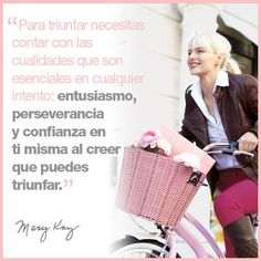¡¡ El entusiasmo!! Mary Kay Ash Quotes, Imagenes Mary Kay, Facial Tips, Mary Kay Cosmetics, Mary Kay Makeup, Boss Babe, Make Up, Pure Products, Words