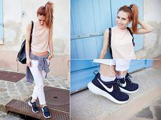 Forever 21 Top, Nike Roshe Run