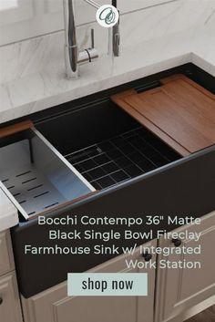 119 black farmhouse kitchen sinks ideas