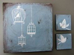I would like these birdcages as tattoos. O think they are super pretty, but still simple.