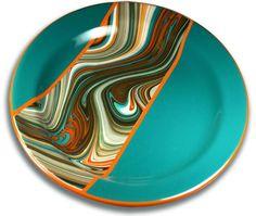 96 COE Charcoal Opal Oceanside Glass Stringers