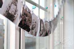 Studio Lala DIY tip: fotoslinger fotoslinger, foto, verjaardag, baby, 1 jaar