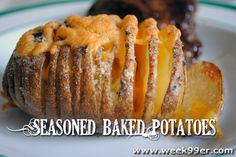 Seasoned Baked Potatoes Recipe