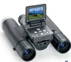 This digital camera doubles up as binoculars too. They are great while traveling and cost $299.95.