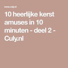 10 heerlijke kerst amuses in 10 minuten - deel 2 - Culy.nl