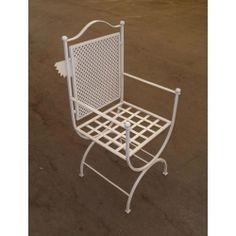Chair Wrought Iron. Customize Realizations. 472