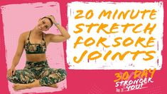 20 Minute Stretch for Stiff Joints | Sydney Cummings - YouTube