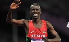Ezekiel Kemboi- Kenya have now won eight consecutive Olympic gold medals in the Steeplechase event.