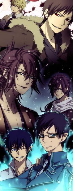 真崎 Durarara, Hakuouki, & Ao no Exorcist -my two favorite characters from some of my favorite animes!!