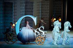 Joyce DiDonato as Cendrillon in The Royal Opera's Cendrillon (I love the back walls)