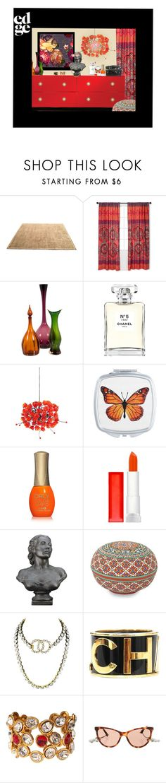 """goodie bag#2"" by confusgrk ❤ liked on Polyvore featuring interior, interiors, interior design, home, home decor, interior decorating, Barbara Barry, Boho Boutique, Chanel and Universal Lighting and Decor"